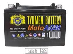 Аккумулятор 6 мтс 9 Тюмень AGM болт. - фото 5389