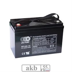 Аккумулятор 100 Ah  OUTDO/Xtreme VRLA 12V (OT100-12) - фото 5429