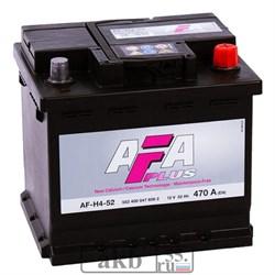 Аккумулятор 52 AFA Plus обратный кубик - фото 5432