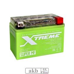 Аккумулятор  4,5Ah Moto Xtreme YTX4L-BS iGEL обратный - фото 5467