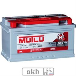 Аккумулятор 85 Mutlu SFB обратный низкая - фото 5476