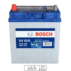 Аккумулятор 40 Bosch Азия прямой (0092S40190) - фото 5481