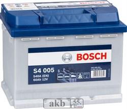 Аккумулятор 60 Bosch S4  обратный(0 092 S40 050) - фото 5485