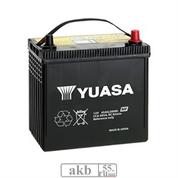 Аккумулятор  45 YUASA MF Black 65B24L Азия обратный - фото 5499