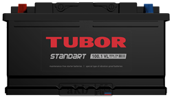 Аккумулятор 100.1 TUBOR STANDART прямой - фото 5608