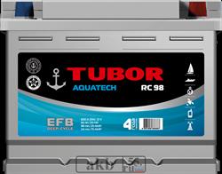 Аккумулятор 60.0 TUBOR AQUATECH обратный - фото 5610