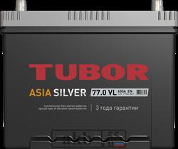 Аккумулятор 77.0 TUBOR Азия SILVER обратный - фото 5622