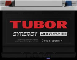 Аккумулятор 60.0 TUBOR SYNERGY обратный низкий - фото 5626