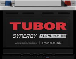 Аккумулятор 61.0 TUBOR SYNERGY обратный - фото 5628