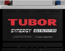 Аккумулятор 65.1 TUBOR SYNERGY прямой - фото 5631
