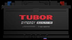 Аккумулятор 85.0 TUBOR SYNERGY низкий обратный - фото 5634