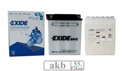 Аккумулятор 14Ah EXIDE Moto 145a  (EB14L-A2) - фото 5679