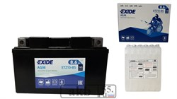 Аккумулятор EXIDE 8,6Ah  Moto AGM 145a ETZ10-BS - фото 5686