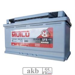 Аккумулятор 100 Mutlu SFB обратный - фото 5773
