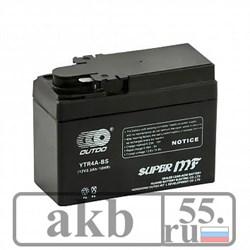 Аккумулятор 2.3 Ah Moto OUTDO  YTR4A-BS (2.5Аh) - фото 5803