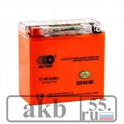 Аккумулятор  12Ah OUTDO YT14B-4 iGEL прямой - фото 5804