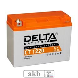 Аккумулятор 20Ah  Delta СT 1220 обратный - фото 5809