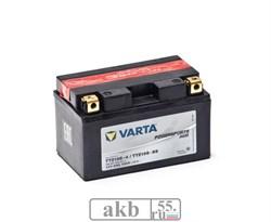 Аккумулятор 8 ah Varta PowerSport AGM 150а прямой - фото 6891