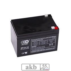 Аккумулятор 12Ah Xtreme VRLA (ОТ 12-12) - фото 6893