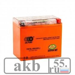 Аккумулятор 12 v 19Ah Moto OUTDO UB16L (YB16L)-BS iGEL обратная - фото 6897