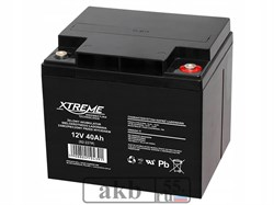 Аккумулятор 12v 40 Ah Xtreme VRLA (ОТ 40-12) - фото 6932
