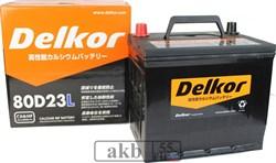 Аккумулятор 68 Delkor 80D23L(JP) обратный - фото 7063