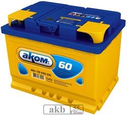 Аккумулятор 60 Аком Евро обратный - фото 7074