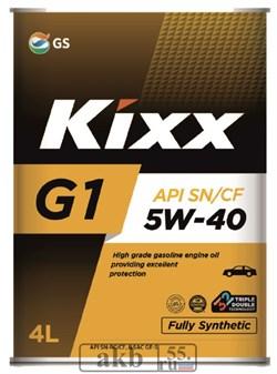 KIXX G1 SN Plus 5W40 4L - фото 7109