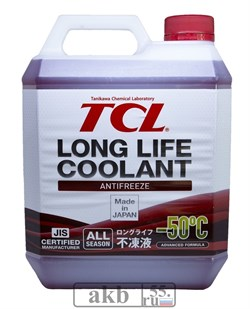 Антифриз TCL LLC -50C красный, 4 л - фото 7155