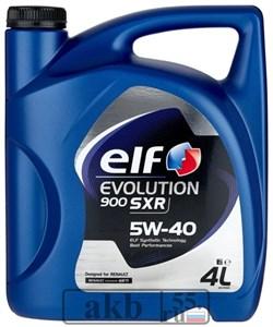 ELF Evolution SXR 5w40 (синтетика) 4 л. - фото 7279