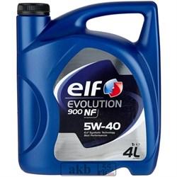 ELF Evolution 900 NF 5W-40 (синтетика) 4 л. - фото 7281