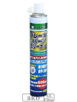Очиститель тормозов MolyGreen Cleaner 608 мл. - фото 7387
