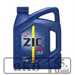 ZIC X5 5w30 SN 4 L полусин. - фото 7466