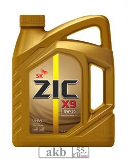 ZIC X9 5w30 SL/CF 4 L син. - фото 7468