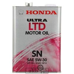 Honda Ultra 5w30  LTD  (синтетика) 4L ж/б - фото 7508