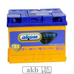 Аккумулятор 65 Аком EFB прямой - фото 7532