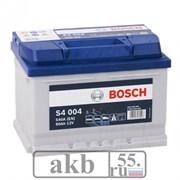 Аккумулятор 60 Bosch S4  низкий обратный (560 409 054)