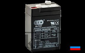 Аккумулятор OUTDO VRLA 12v 4.5Ah (OT4.5-12)