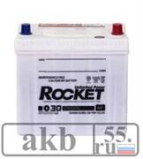 Аккумулятор 65Rocket MF+30 (75D23L) Азия обратный