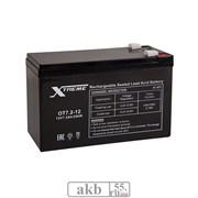 Аккумулятор 7.2Ah Xtreme VRLA (ОТ 7.2-12)