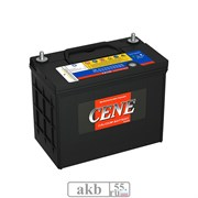 Аккумулятор 55 CENE 65B24L Азия обратный