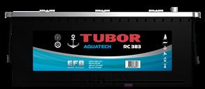 Аккумулятор 190.3 TUBOR AQUATECH обратный