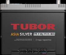 Аккумулятор 77.1 TUBOR Азия SILVER прямой