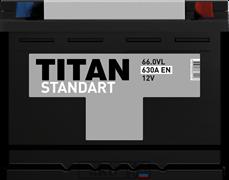 Аккумулятор 66.0 TITAN STANDART обратный
