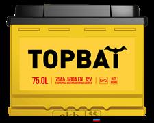 Аккумулятор 75.0 TOPBAT обратный