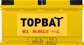 Аккумулятор 90.1 TOPBAT прямой