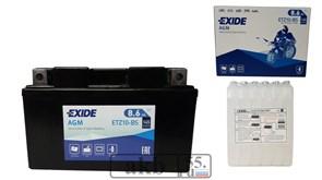 Аккумулятор EXIDE 8,6Ah  Moto AGM 145a ETZ10-BS