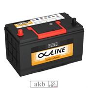 Аккумулятор 100 ALPHALINE SD 115D31R Азия прямой