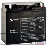 Аккумулятор 18 Ah Xtreme VRLA (OT 18-12)