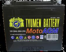 Аккумулятор 6 мтс 20 Тюмень AGM